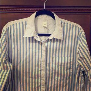 Gap Striped Popover Tunic Size L Tall